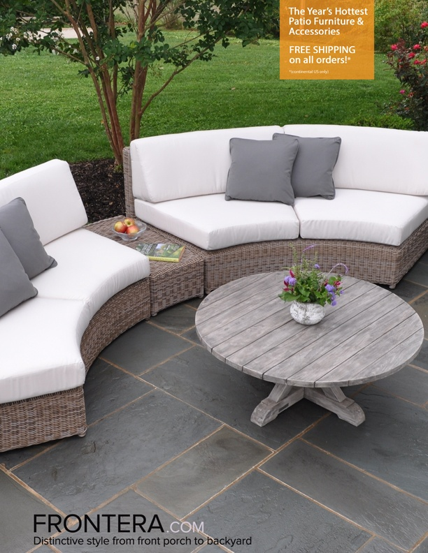 2015 Frontera Outdoor Furniture Catalog