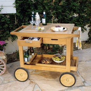 Serving Carts and Trays