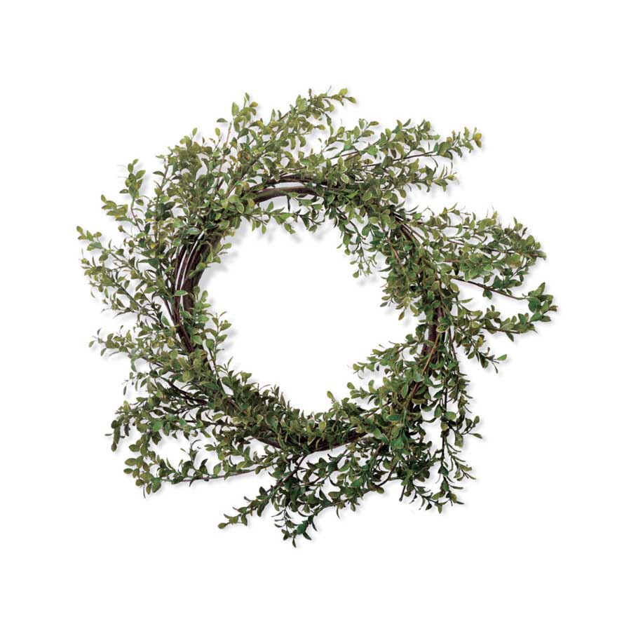 12 Inch Green Boxwood Wreath