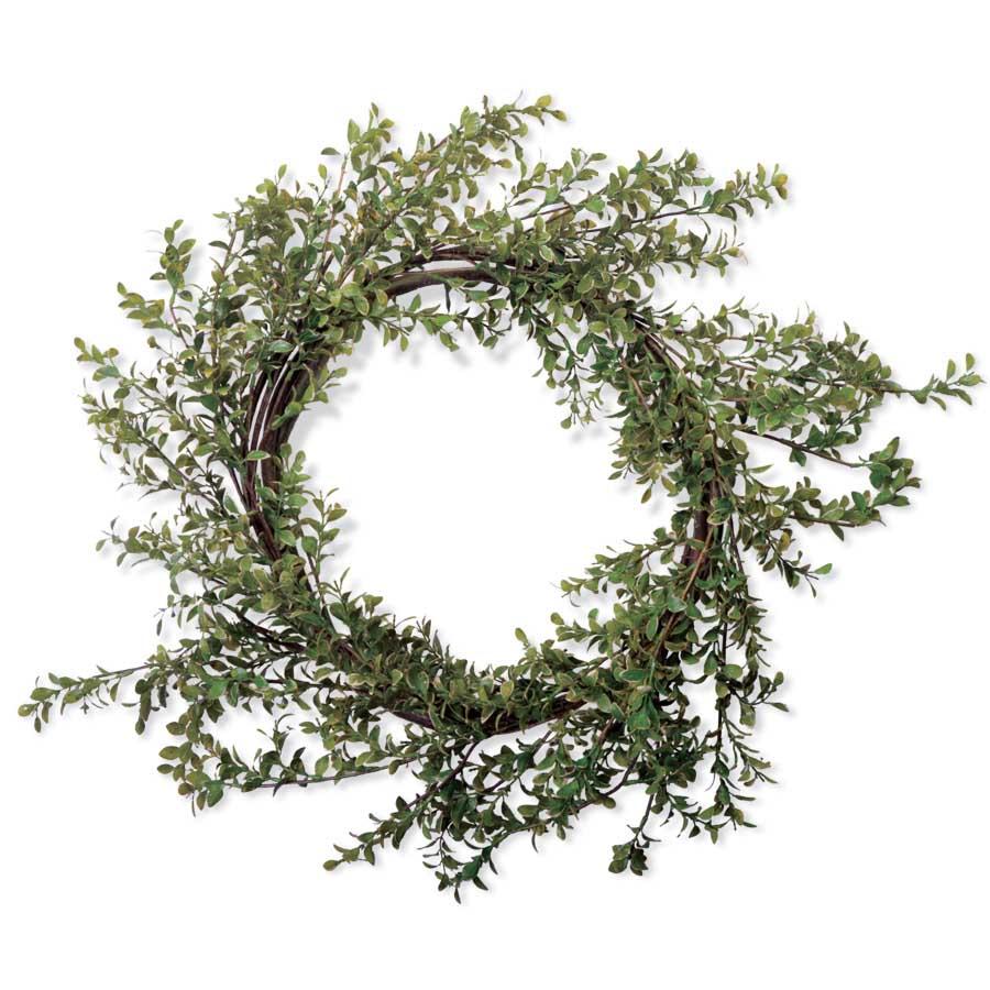 30 Inch Green Boxwood Wreath