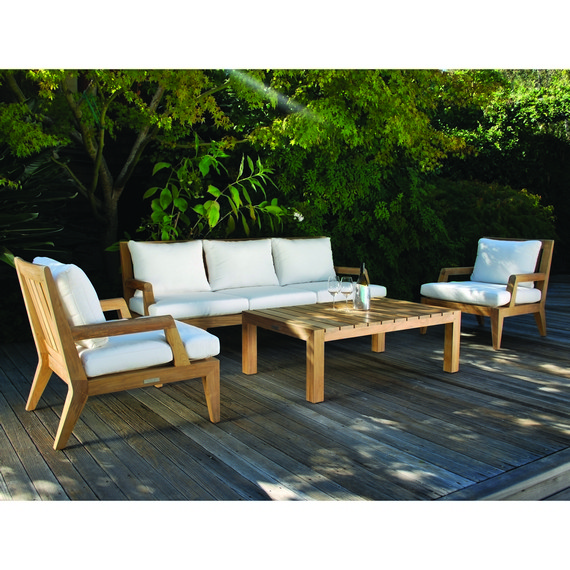 Kingsley-Bate Mendocino 4 Piece Deep Seating Ensemble