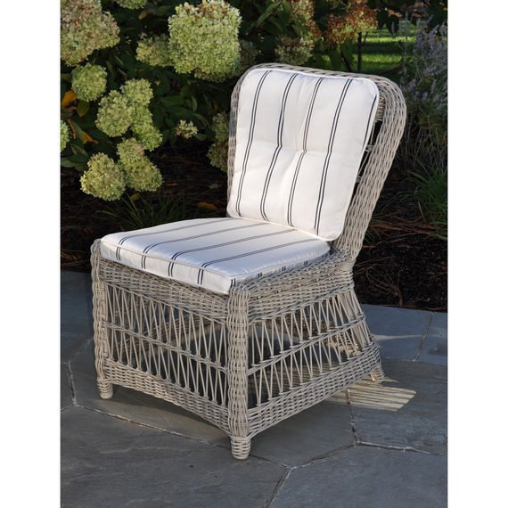 Kingsley-Bate Southampton Woven Dining Side Chair