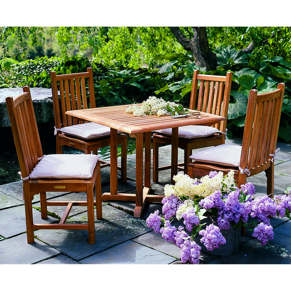 Kingsley-Bate Evanston and Classic 9 Piece Dining Ensemble