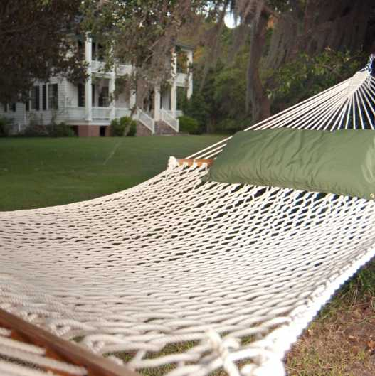 Pawleys Island Presidential Original Polyester Rope Hammock