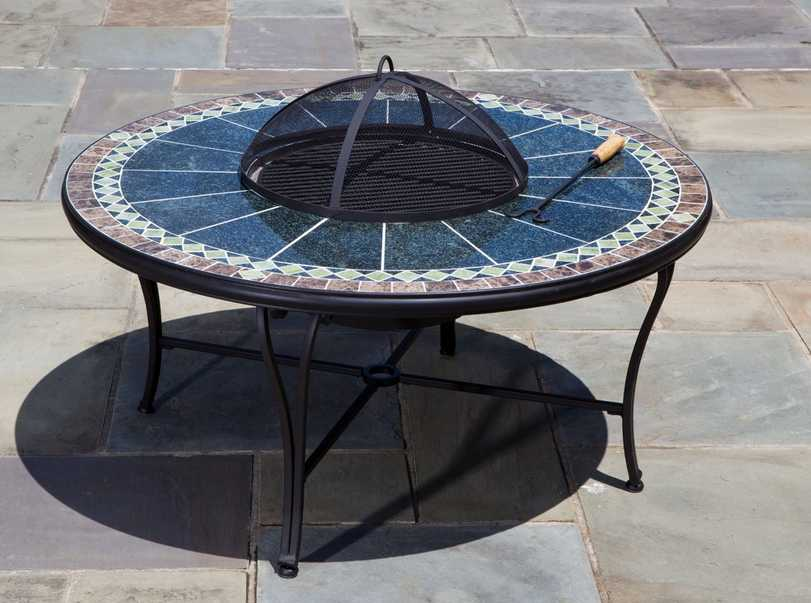 Alfresco Home Ponte Patio Fire Pit Table