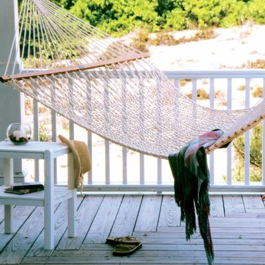 Pawleys Island Presidential Original Cotton Rope Hammock