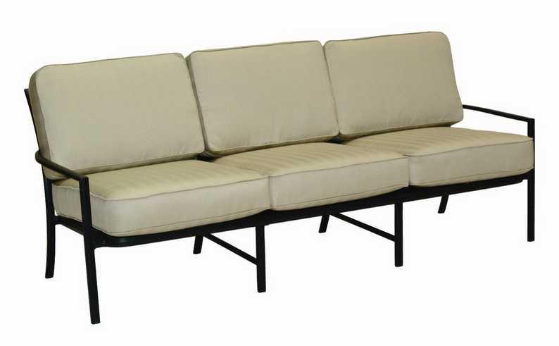 Landgrave Royale Aluminum Cushion Sofa