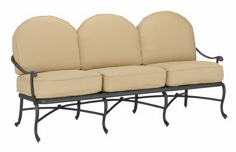 Landgrave Sarbone Lily  Aluminum Sofa