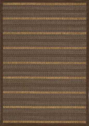 Nourison Indoor/Outdoor Eclipse Chocolate Rug
