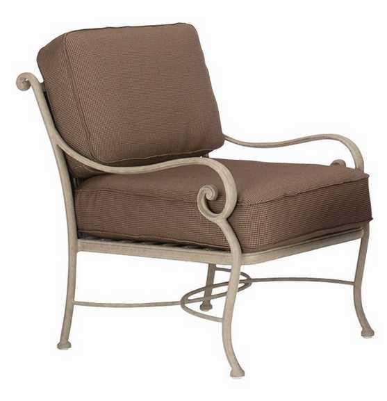 Landgrave Palermo Cast Aluminum Lounge Chair