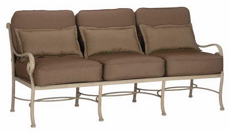 Landgrave Palermo Cast Aluminum Sofa