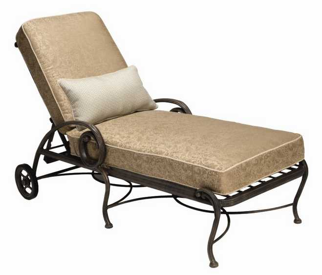 Landgrave Old Gate Cast Aluminum Adjustable Lounge Chaise