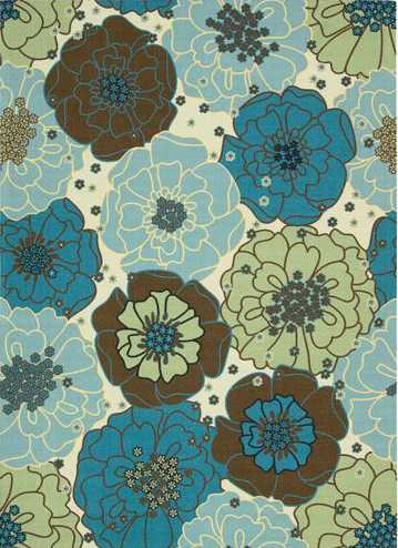 Nourison Indoor/Outdoor Home & Garden Floral Rug