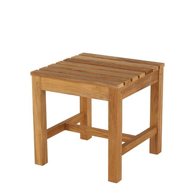 Barlow Tyrie Felsted Teak Footstool /Side Table