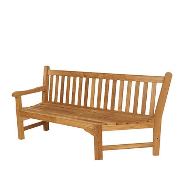 Barlow Tyrie Glenham Teak 6' Corner Seat - Left