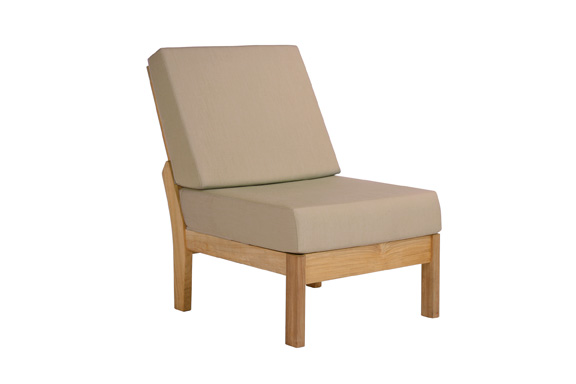 Barlow Tyrie Haven Teak Deep Seating Middle Module