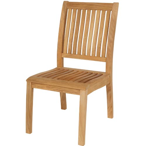 Barlow Tyrie Monaco Teak Side Chair