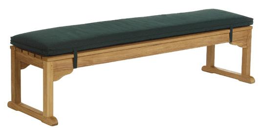 Barlow Tyrie Wimbledon 6′ Bench Cushion