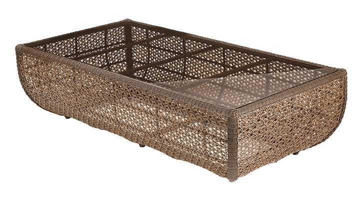 Barlow Tyrie 48� Kirar Woven Rectangular Coffee Table