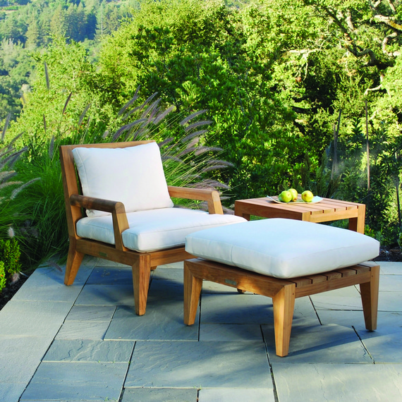 Kingsley-Bate Mendocino 3 Piece Deep Seating Ensemble