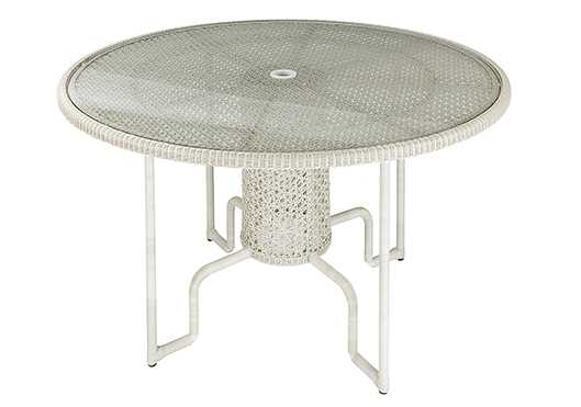 Barlow Tyrie 48� Kirar Woven Circular Dining Table