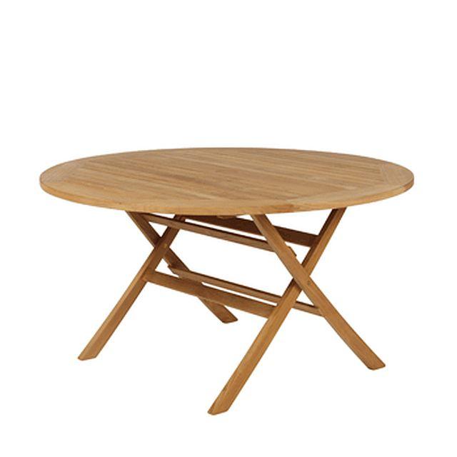 Barlow Tyrie Ascot Folding Circular Teak Dining Table 51�