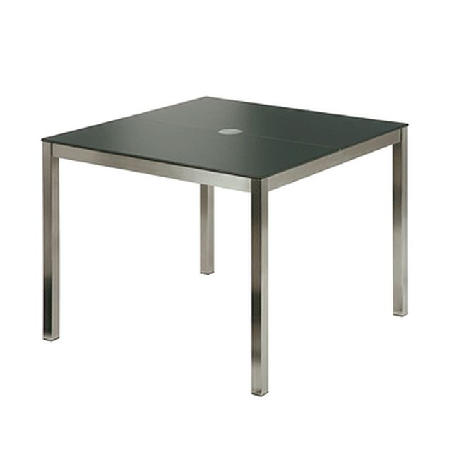 Barlow Tyrie Equinox Stainless Steel Table with High Pressure Laminate Top