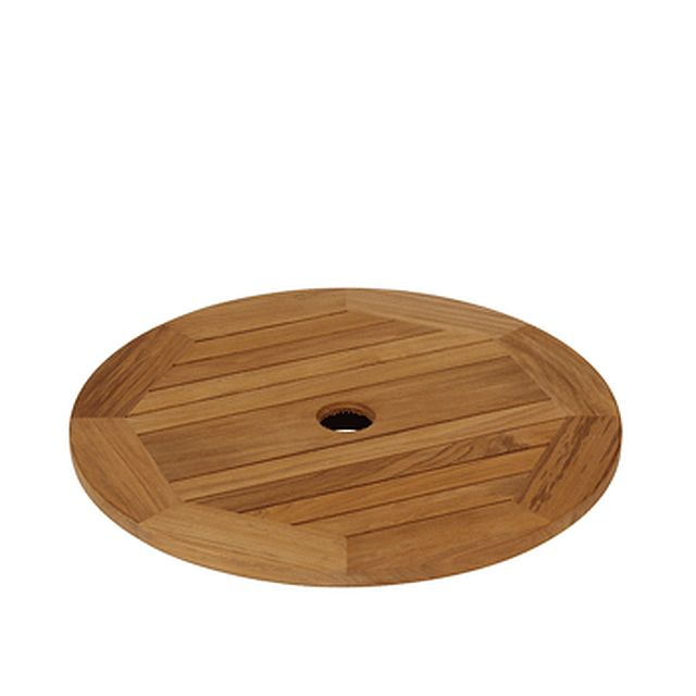 Barlow Tyrie Drummond 29� Teak Lazy Susan For 59�  Dining Table