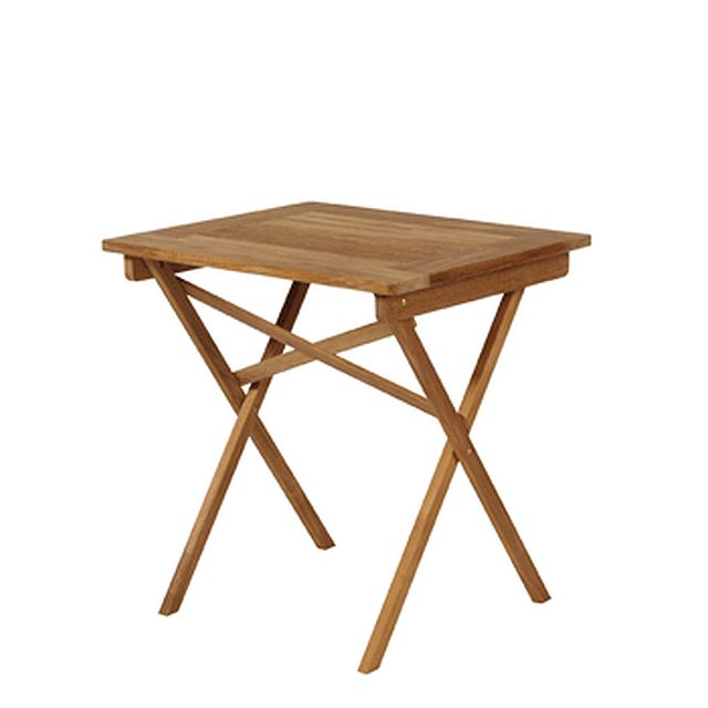 Barlow Tyrie Safari Teak Folding Table 27�