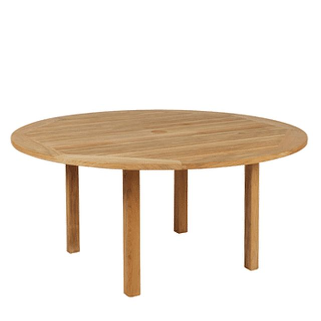Barlow Tyrie Windsor Circular Teak Dining Table