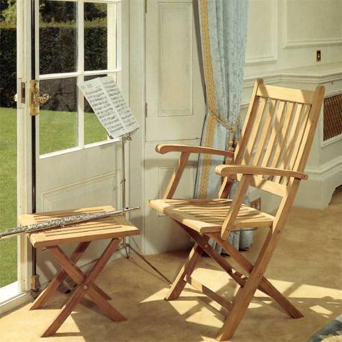 Barlow Tyrie Ascot Teak Folding Carver Chair