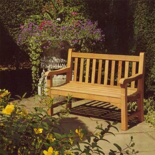 Barlow Tyrie Glenham Teak 6′ Bench