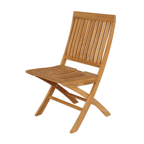 Barlow Tyrie Monaco Teak Folding Side Chair