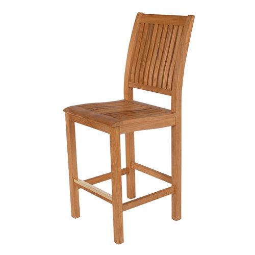 Barlow Tyrie Monaco Teak High Dining Side Chair