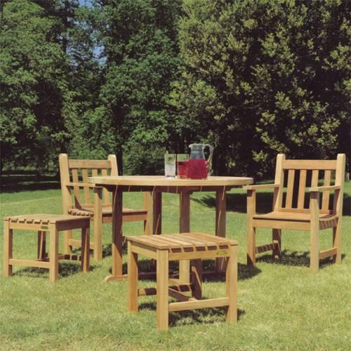 Barlow Tyrie Balmoral Teak 43� Circular Dining Table