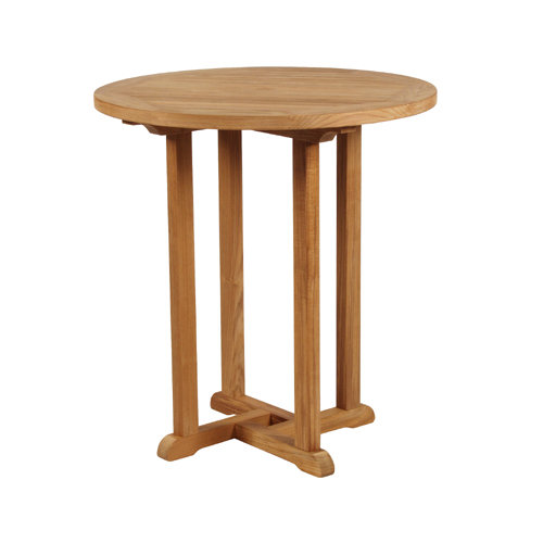 Barlow Tyrie Edinburgh Teak Circular High Dining Table, 36�