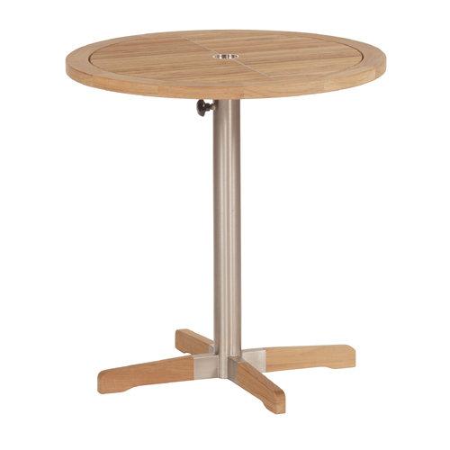 Barlow Tyrie Equinox Teak Trimmed  Circular Bistro Table