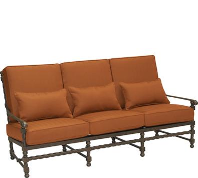 Landgrave Bretain Cast Aluminum Sofa