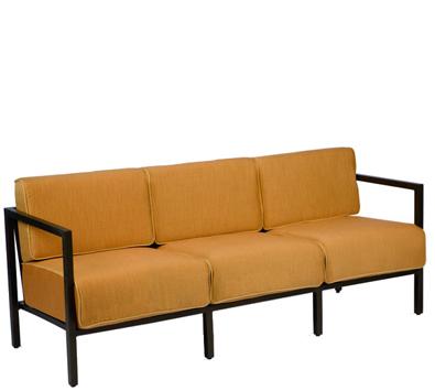 Woodard Salona Aluminum Sofa