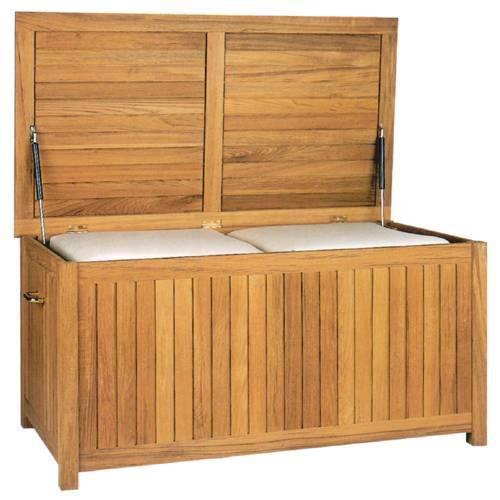 Kingsley-Bate Medium Teak Storage/Cushion Box