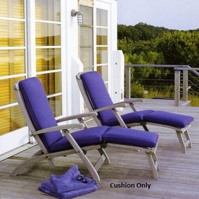 Kingsley-Bate Steamer Chair Cushion (2-pieces)