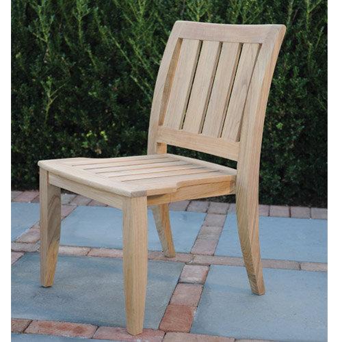 Kingsley-Bate Ipanema Teak Dining Side Chair (Stacking)