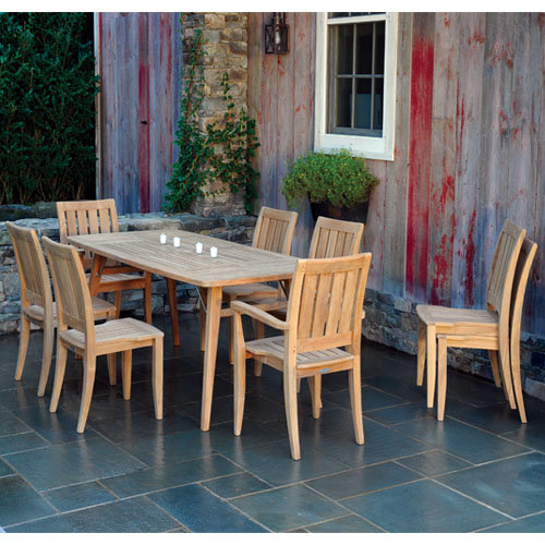 Kingsley-Bate Ipanema 85� x 39� Rectangular Extension Teak Dining Table