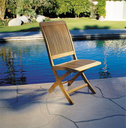 Kingsley-Bate Monterey Teak Folding Side Chair