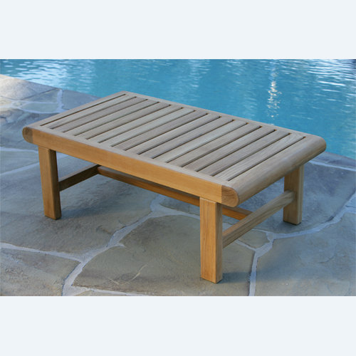 Kingsley-Bate Nantucket Rectangular Teak Coffee Table