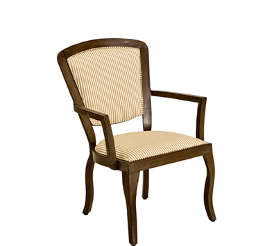 Landgrave Atlanta Cast Aluminum Dining Arm Chair