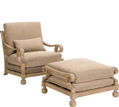 Landgrave Contempo Cast Aluminum Lounge Chair
