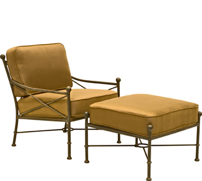 Landgrave Hacienda Cast Aluminum Lounge Chair