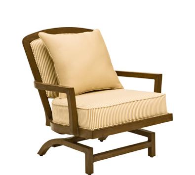 Landgrave Atlanta Cast Aluminum Rocking Lounge Chair