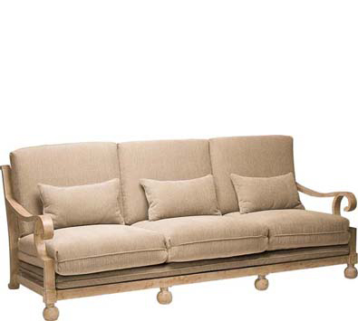 Landgrave Contempo Cast Aluminum Sofa